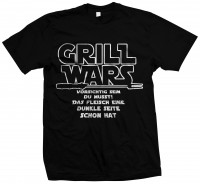 Grill Wars - Grillen Barbeque Shirt