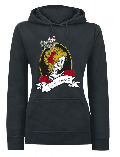 Böse Mädels Viva la muerte - Lady Hooded Sweat